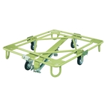 Movable Rotating Dolly, Light Duty, with Center Base