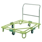 Movable Rotating Dolly, Medium Duty, Handle Type