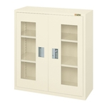 Storage Box Rack with Double-hinged Doors