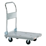 Plastic Hand Truck, Standard Casters, Foldable Handle