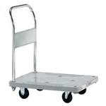 Plastic Hand Truck, Standard Casters, Fixed Handle