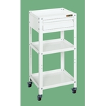 Special Utility Cart with Drawer (Pearl White)