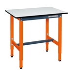 Light Duty Height Adjustable Workbench