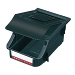 Conductive Box, Z-type, with Lid, Black