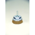 Brass Shaft Mounted Cup Brush