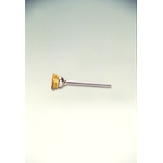 Miniature Brass Shaft Mounted Cup Brush