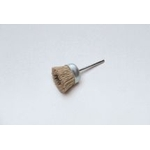 Miniature Grit Shaft Cup Brush with Abrasive Grains
