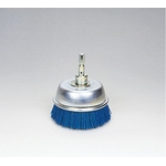 Quick Grit Cup Brush with Abrasive Grains