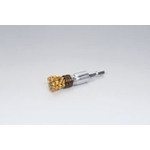 Quick Steel Plated Wire Cylindrical Brush (Yellow Strand)