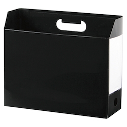 Add One, Box File, A4, Lateral, Black