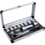 Go-through Ratchet & Spline Socket Set