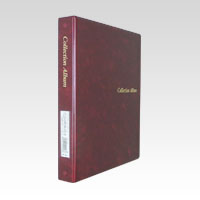 Collection Album Binder Type Red