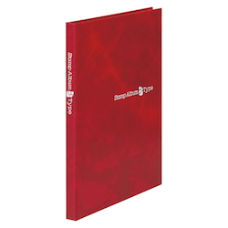 Stamp Album B-Type Red Standard: 5 Stages