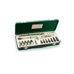 Mixed socket wrench set