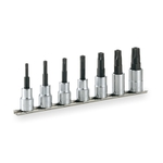 TORX Socket Set (Tamper-proof Type / with Holder) HTX407H