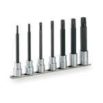 Long TORX Socket Set (Tamper-proof Type · with Holder) HTX407HL