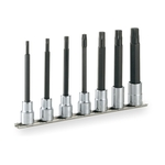 Long TORX Socket Set (Heavy-duty Type · with Holder) HTX407L