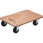 "Platform Trolley ""Flat Dolly"" (Rubber Caster Specification)"