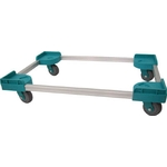 Aluminum Dolly for Storage Box (Noise Reduction Caster Specification)