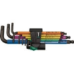 Multi-colored Ball Point Allen Wrench Set (9-piece Set)