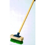 Synthetic Tough Deck Brush with Wooden Handle