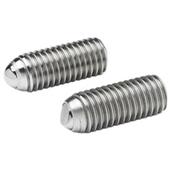 Ball point screws, Stainless Steel