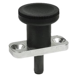 Indexing plungers with rest position, Plunger Steel