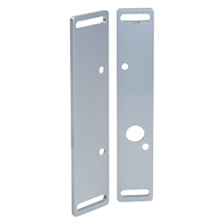 Mounting plate, flat, Steel