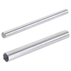 Retaining rods / tubes, round, Stainless Steel