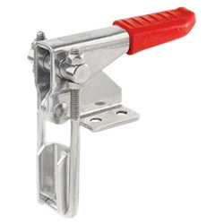 Stainless Steel-Vertical hook type toggle clamps