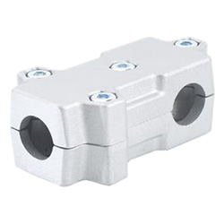 T-angle connector clamps, Aluminium