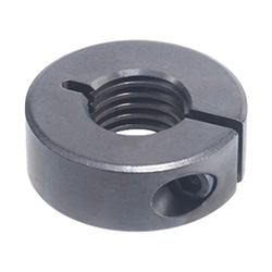 Threaded set collars, Steel