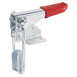 Vertical hook type toggle clamps