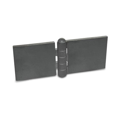 Hinges, Steel profile, for welding (GN 1366)