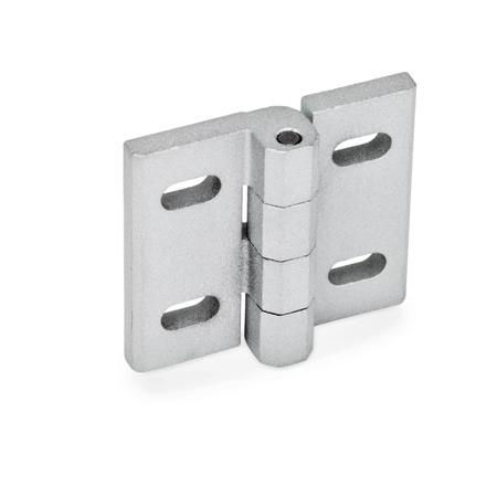 Hinges, adjustable, Zinc die casting (GN 235)