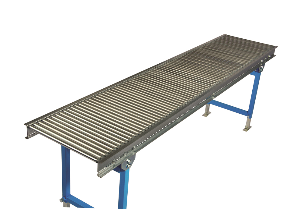 Small roller conveyor with steel rollers 6032STX2000