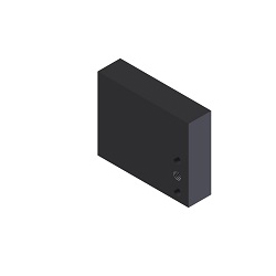 [NAAMS] NC Bloc Rectangulaire - 3 Trous Côté