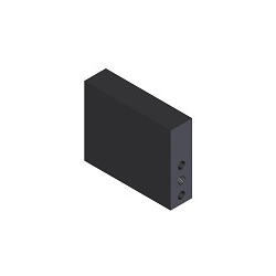 [NAAMS] NC Bloc Rectangulaire - 3 Trous Facade