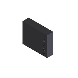 [NAAMS] NC Bloc Rectangulaire - 4 Trous Côté