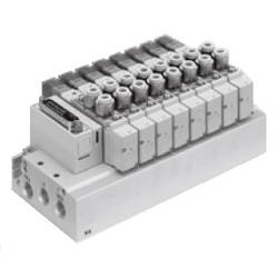 Électrovanne 5 ports, enfichable gamme SY3000/SY5000/SY7000
