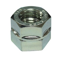 Écrou hexagonal HARD-LOCK (avec couronne / chrome trivalent)