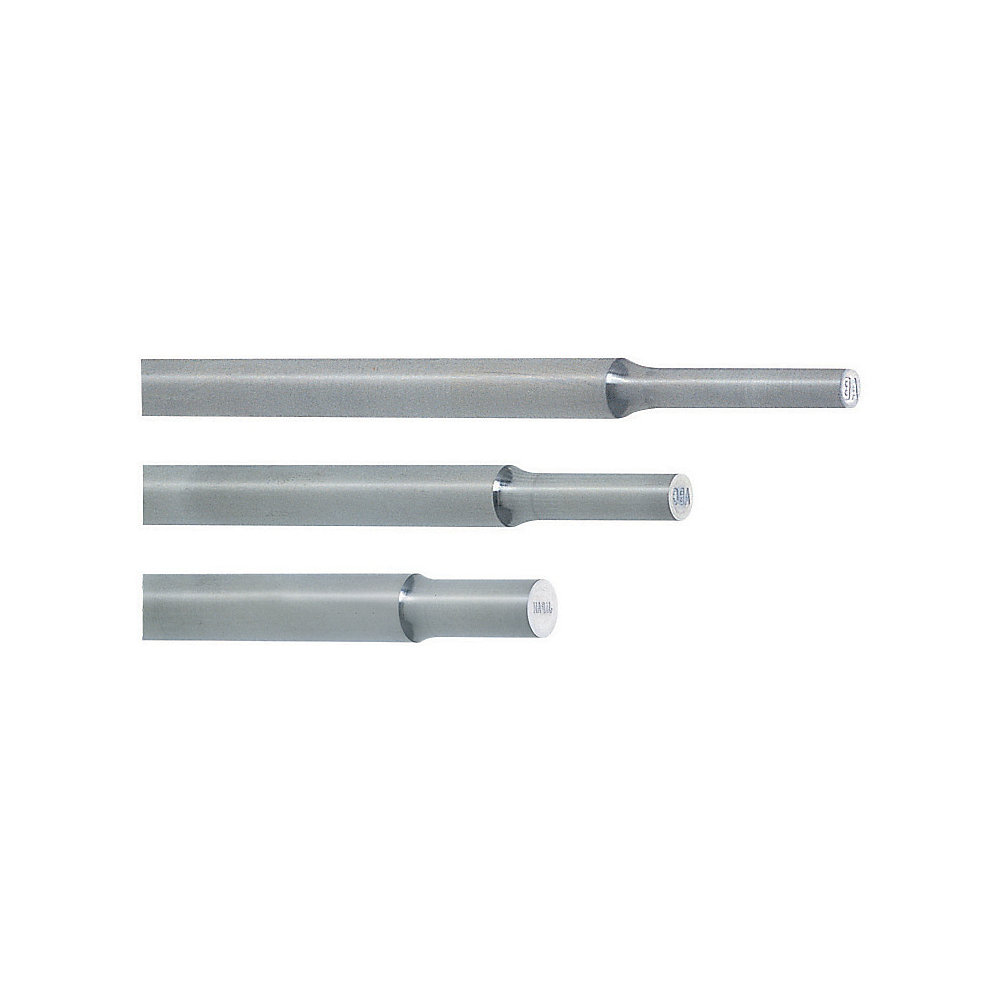 Stepped Ejector Pins With Engraving -Die Steel SKD61+Nitrided/Tip Diameter・L Dimension Designation Type-