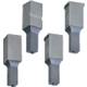 Jector Block Punches  -TiCN Coating-