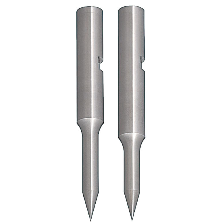 Pilot Punches with Key Grooves  DLC Coating Sharp Tip Angle Type