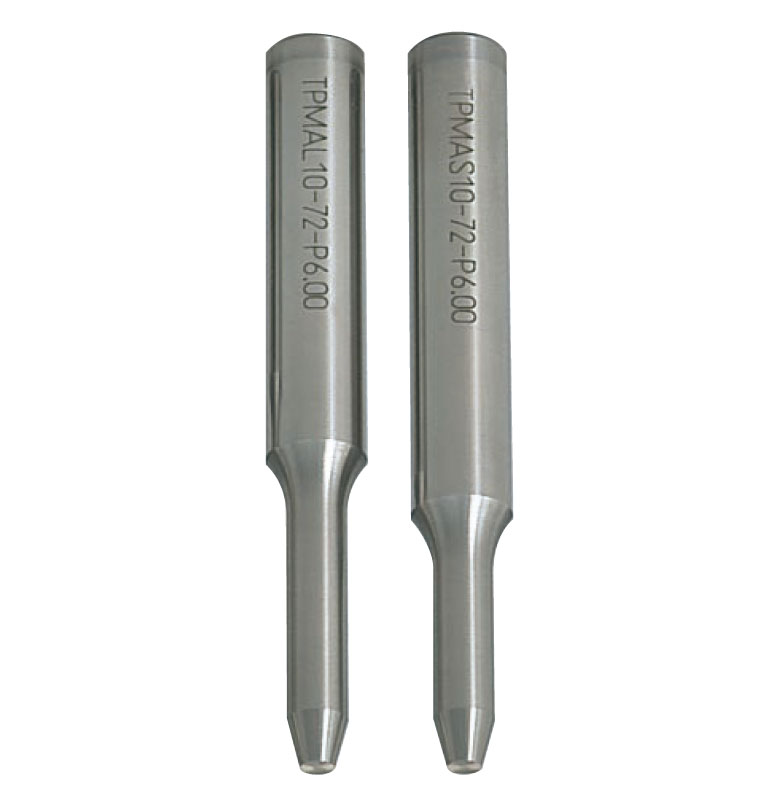Tapped Pilot Punches  DLC Coating  Tapered Tip Type