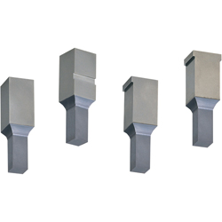 Block Punches -TiCN Coating- Shank (Mounting Part) Shape: With Key Groove