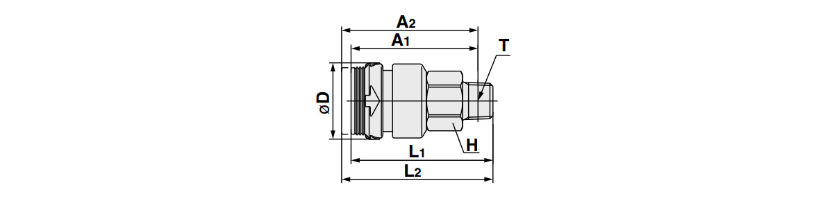 S Coupler KKH Socket (S) Male Thread Type: related images